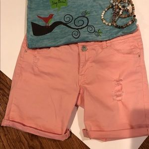 Jolt ,Nordstrom, pink shorts *free w/30 purchase